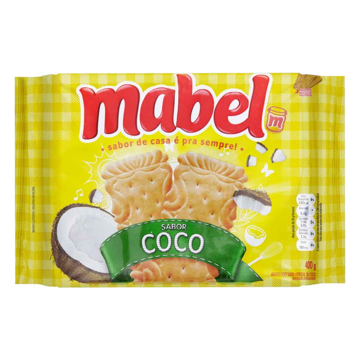 BISCOITO MABEL COCO  1X400G (21)
