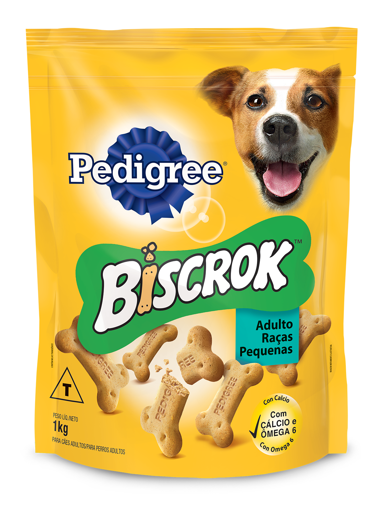 PEDIGREE BISCROK ADULTO RP 1X1KG (10)