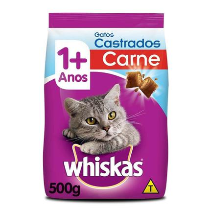 WHISKAS GATOS CAST CARNE 1X500G (20)