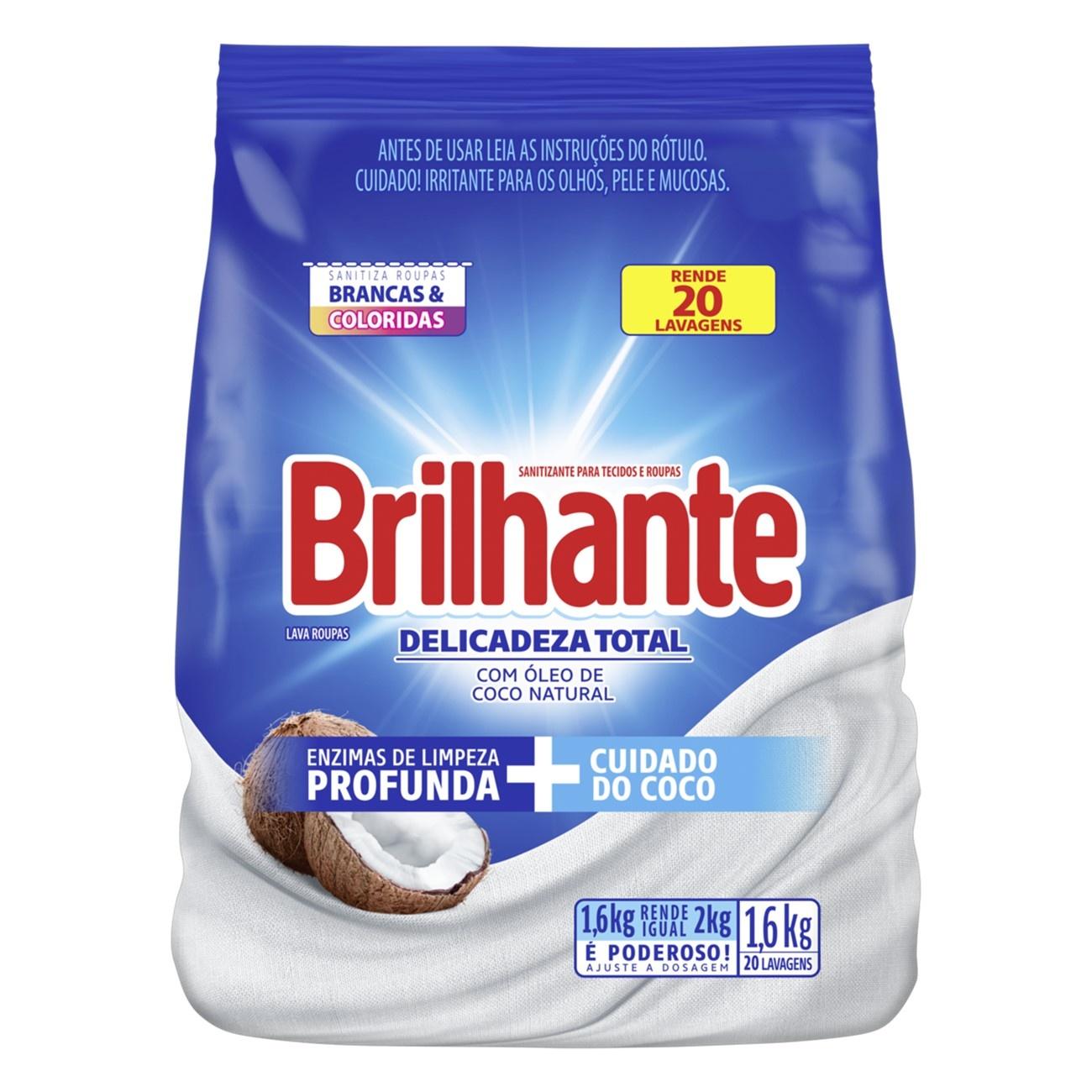 BRILHANTE PO DELICA TOT C/COCO  1.6KG(7)