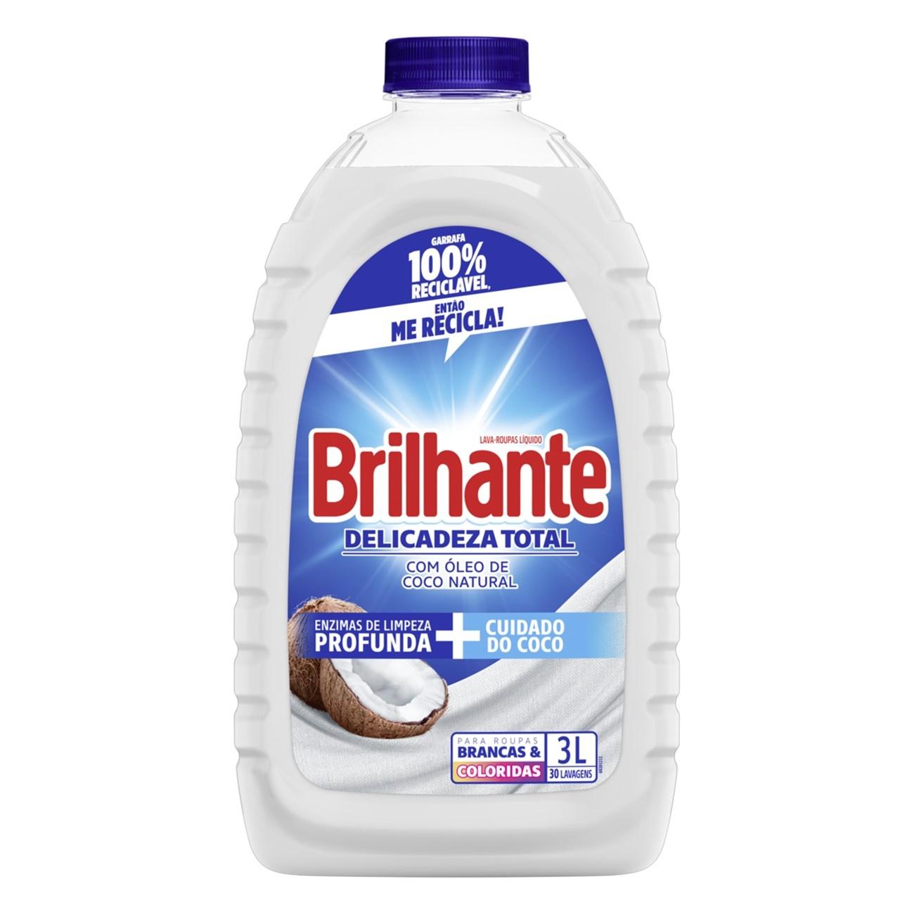 BRILHANTE LIQ DELICA TOT C/ COCO 1X3L(4)