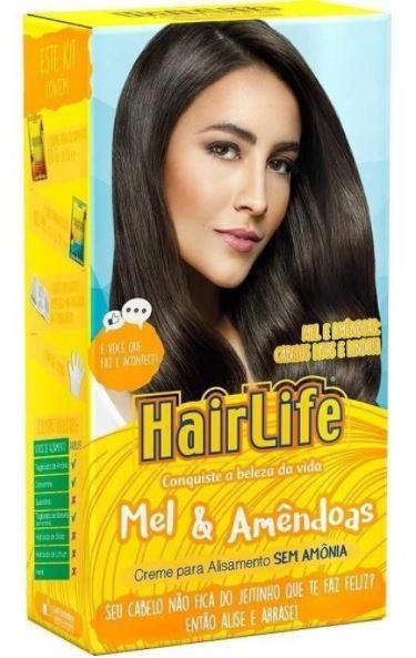 KIT ALISANTE HAIRLIFE MEL E AMENDOAS(12)