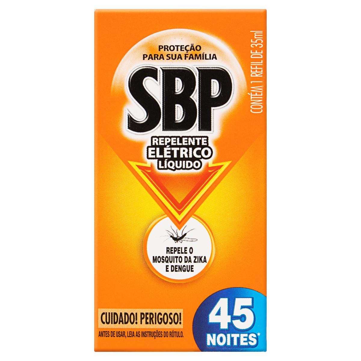SBP ELETR LIQ 45 NOITES REFI 1X35ML(24)