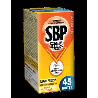 SBP ELETR LIQ 45N CITRONE REFI 1X35ML(24