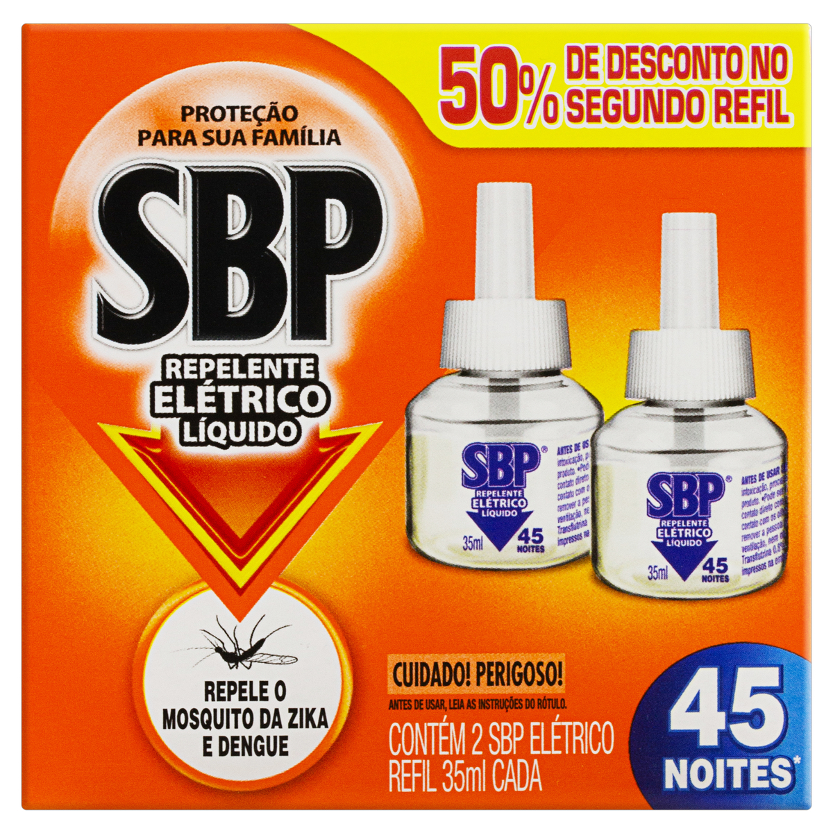 SBP PR LED RF LIQ 45N 50%OF 2X35ML(12)