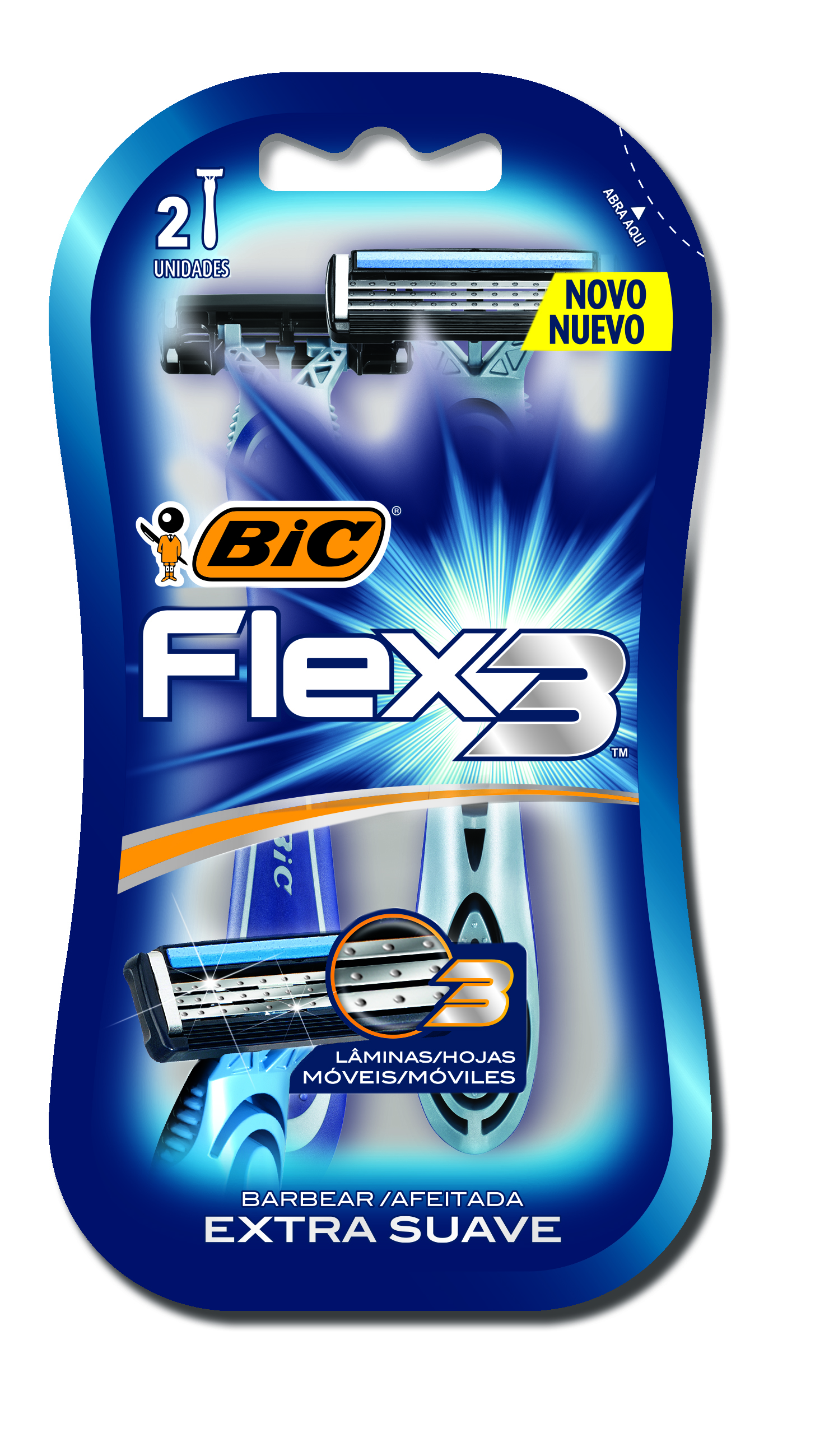 AP DE BAR FLEX 3 EXT SUAVE 1X2(72)