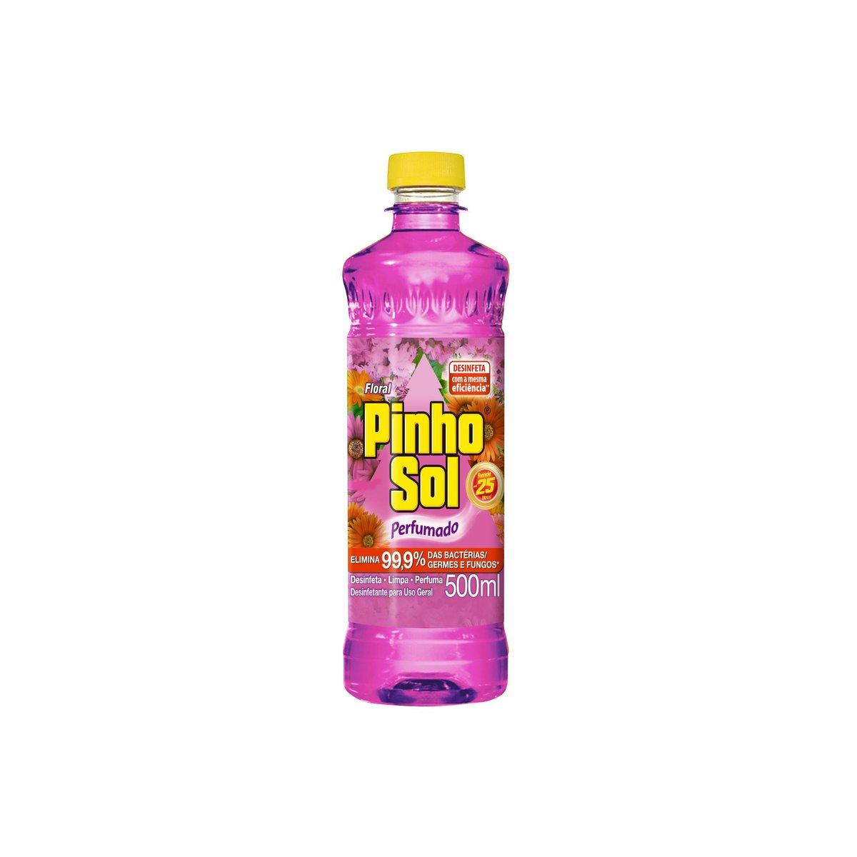DESINF PINHO SOL FLORAL 1X500ML(12)