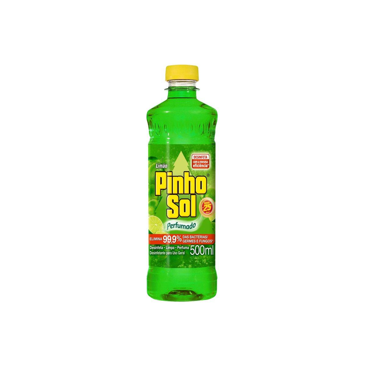 DESINF PINHO SOL CITR LIMAO 1X500ML(12)