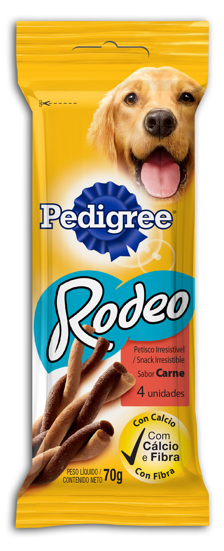 PEDIGREE RODEO CARNE 1X4X70G (20)