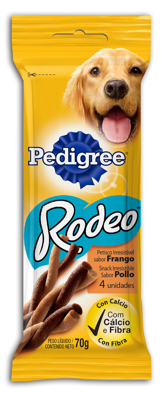 PEDIGREE RODEO FRANGO 1X4X70G (20)