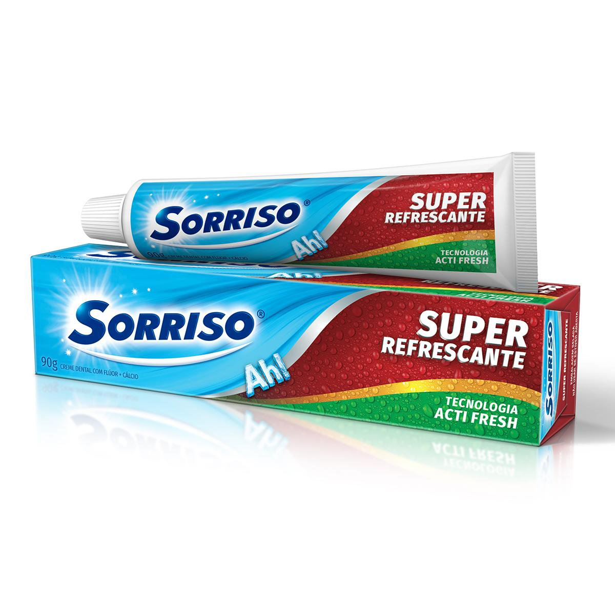 CR DENT SORRISO SUPER REFRESC 1X90G(144)