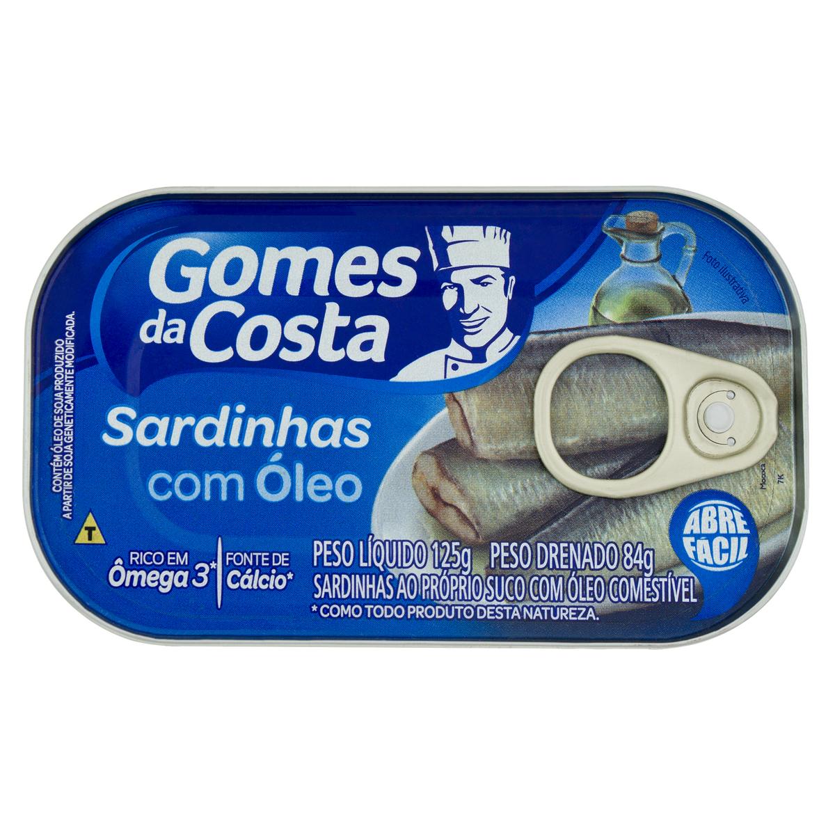 SARDINHA OLEO 1X125 (50)