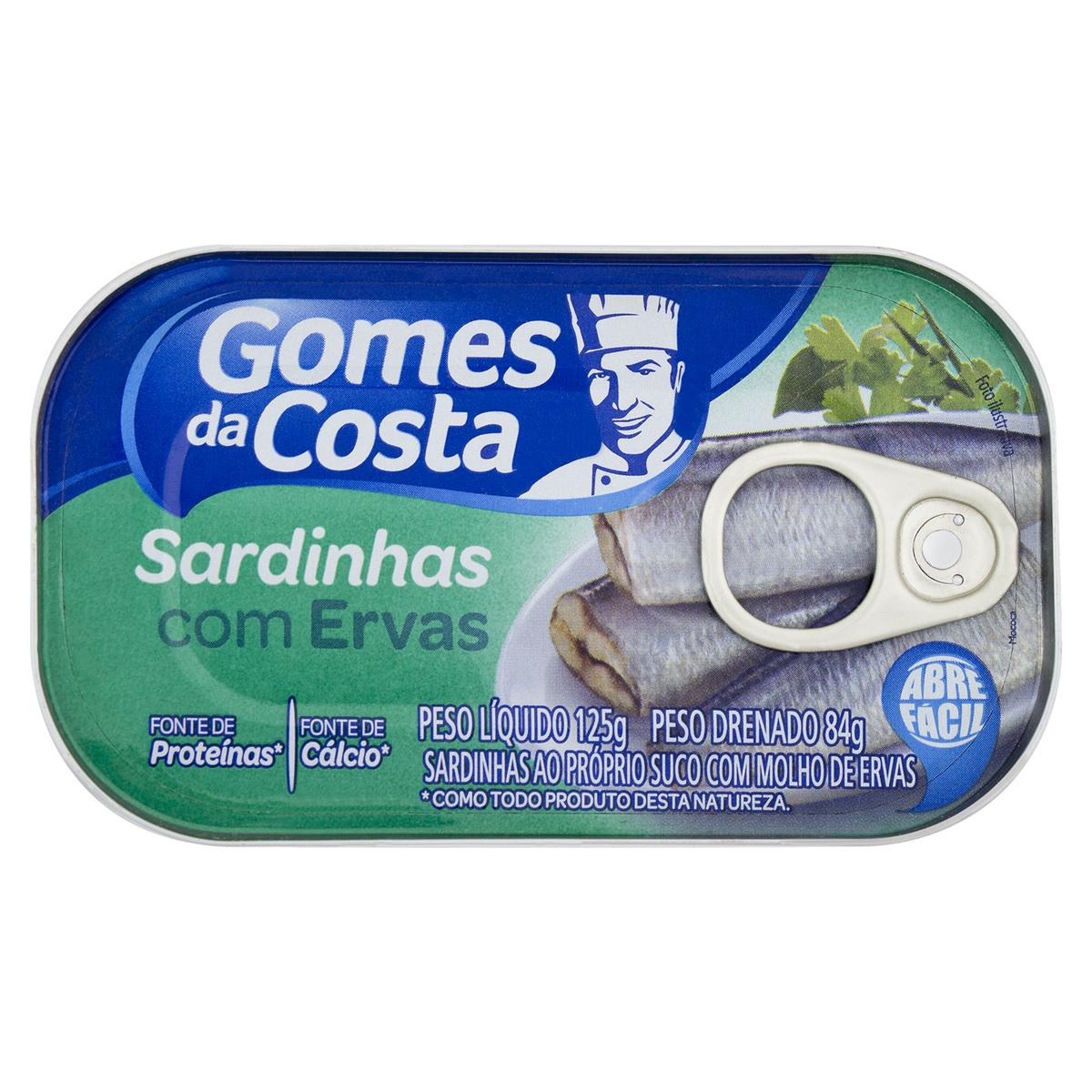 SARDINHA ERVAS FINAS 1X125 (50)