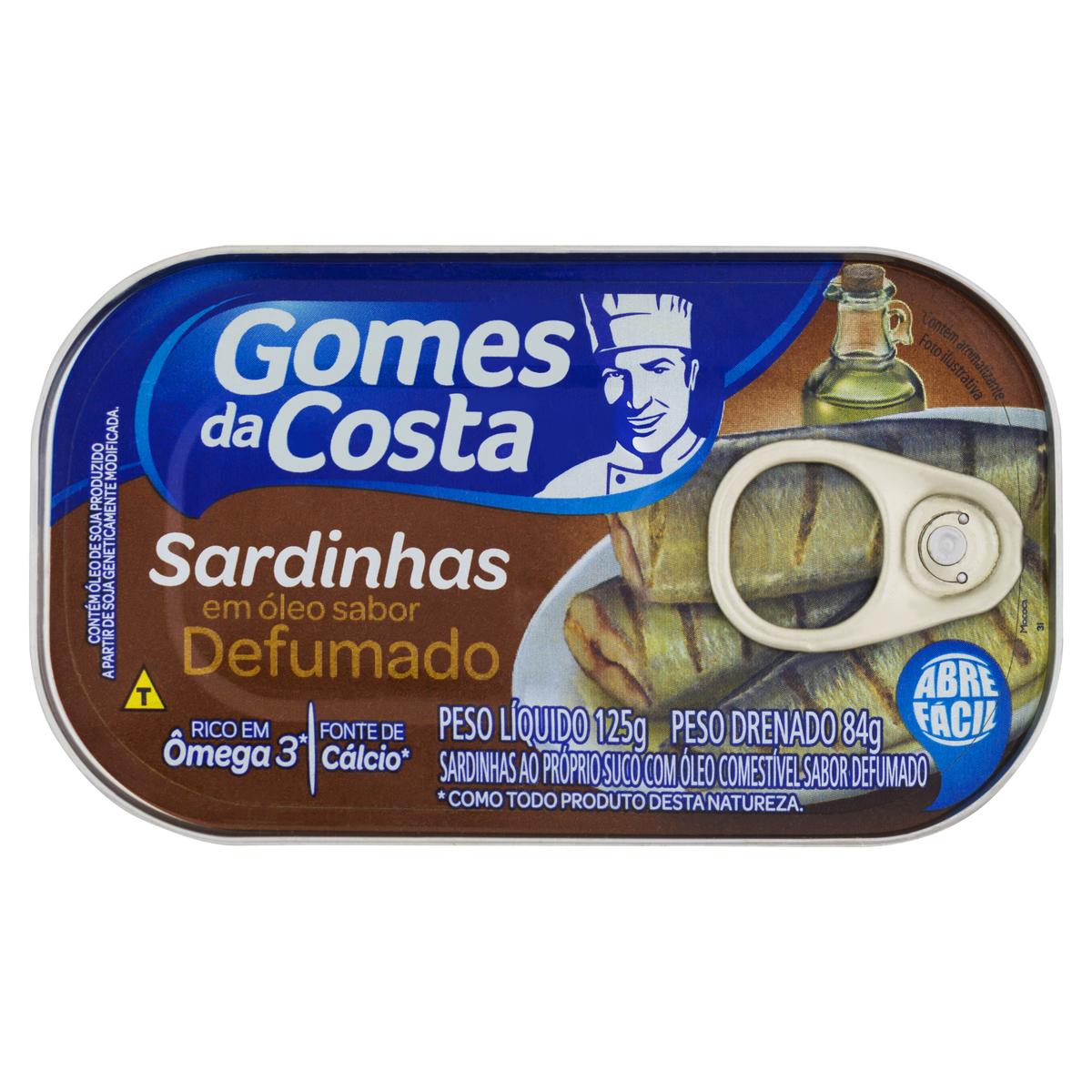 SARDINHA OLEO DEFUMADA1X125 (50)
