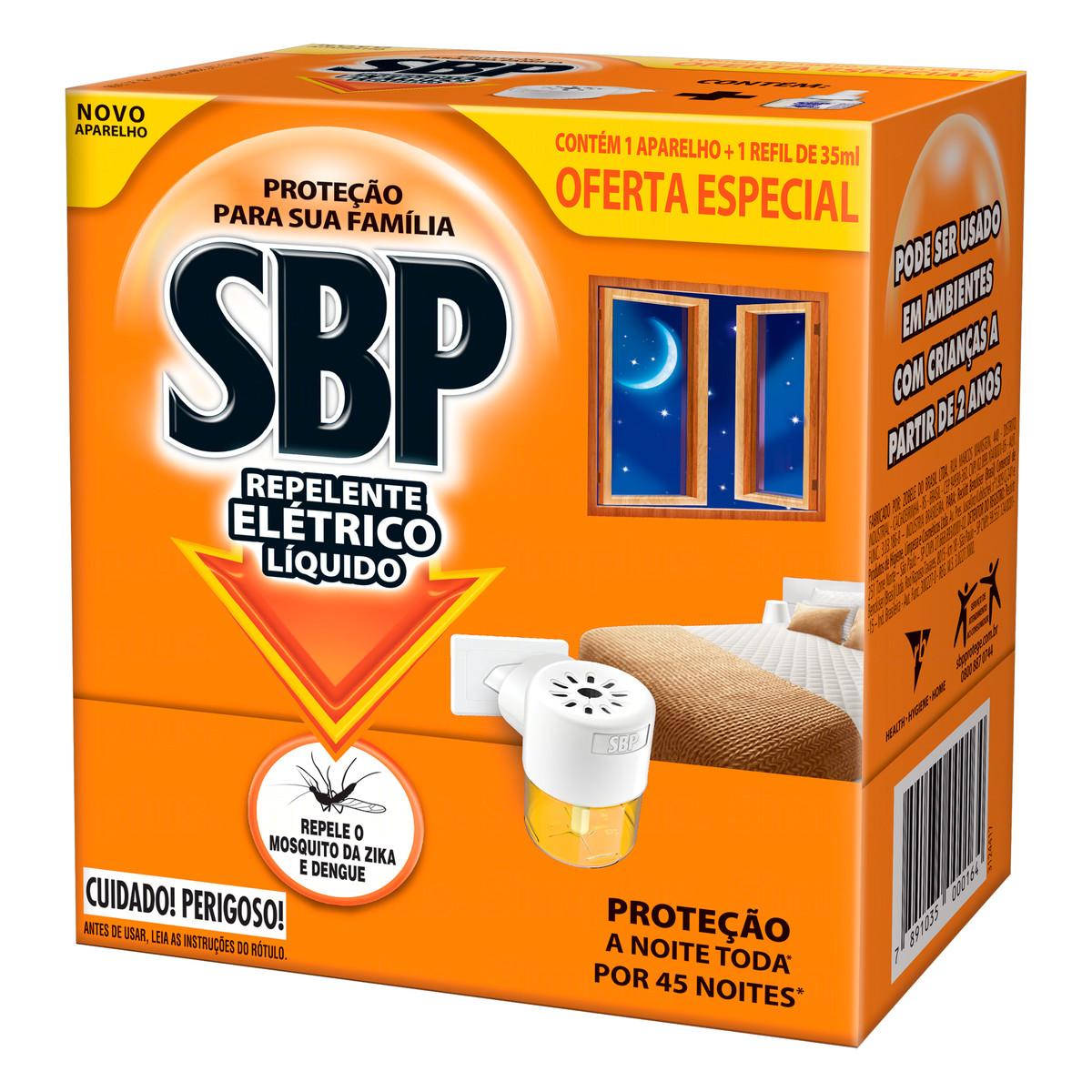 SBP PR ELETRICO 45N LIQ AP GRT 1X35ML(12