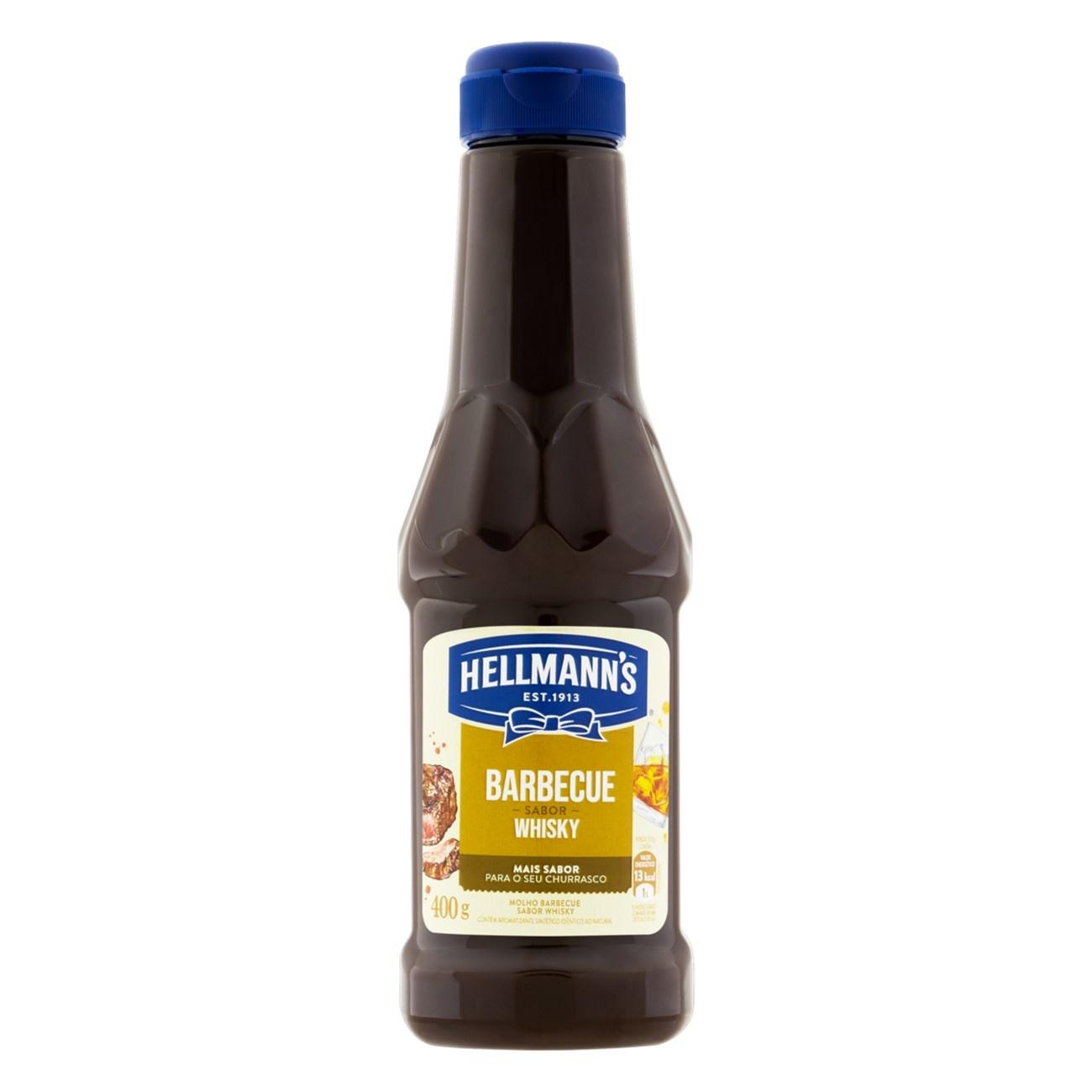 HELLMANNS MOLHO BARBE WHISKY 1X400G (12