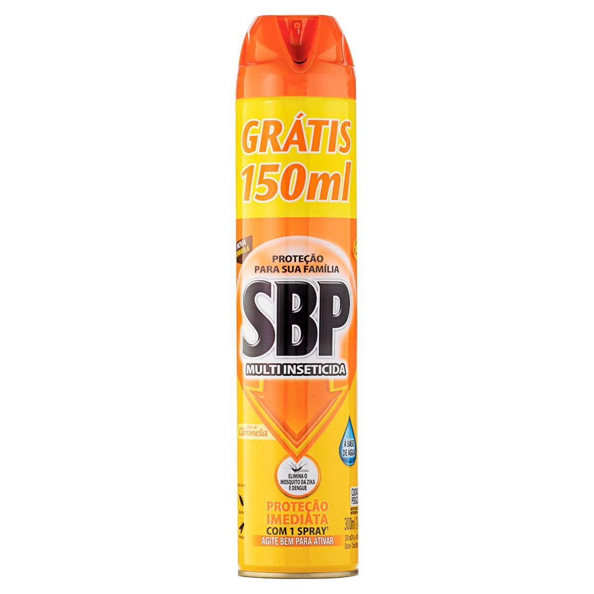 SBP PR CITRONELA AE L+P- 1X450ML(24)