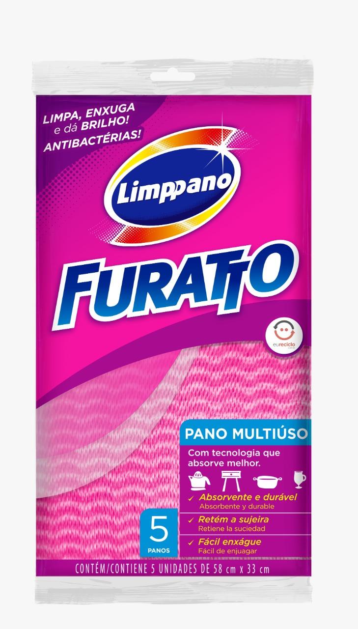 PANO  MULT FURATTO ROSA 58X33CM 1X5 (50)