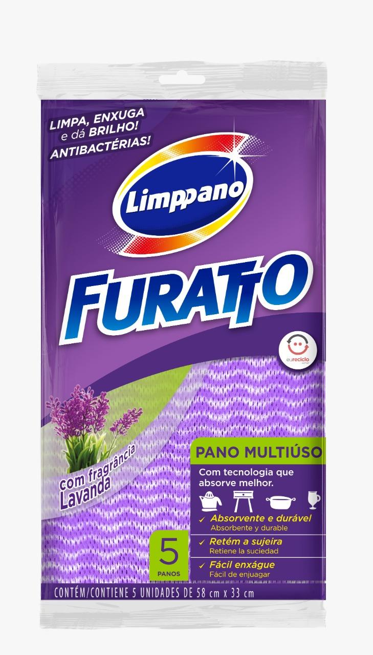 PANO  MULT FURATTO LAVANDA 58X33 1X5(50)