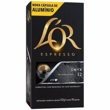 CAPSULAS CAFE LÓR ESP ONYX 10X52G(10)