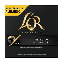 CAPSULAS CAFE LÓR EXPRS RESTR 20X104G(10