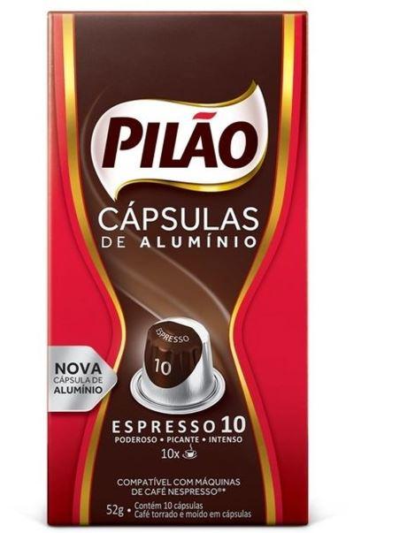 CAPSULAS CAFE PILAO FORTISSIM 10X52G(10)
