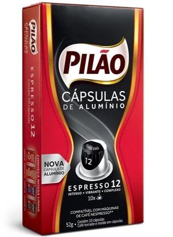 CAPSULAS CAFE PILAO EXTR FORT 10X52G(10)