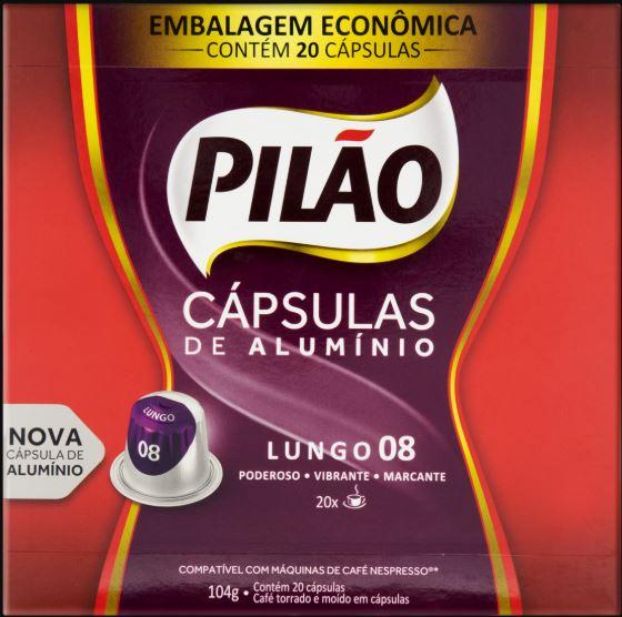 CAPSULAS CAFE PILAO INTEN PRM 20X104G(10