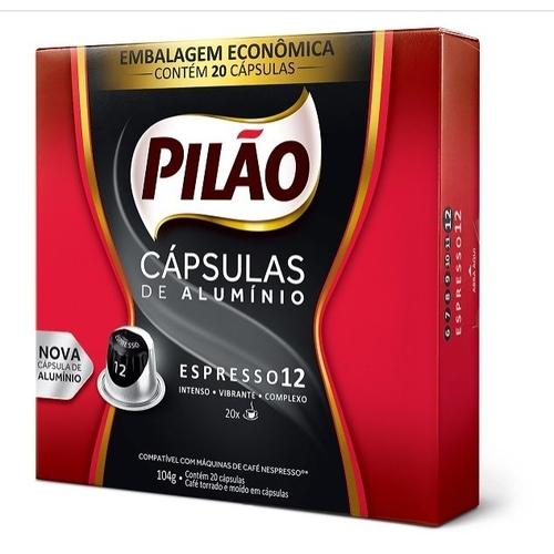 CAPSULAS CAFE PILAO EXT F PRM 20X104G(10
