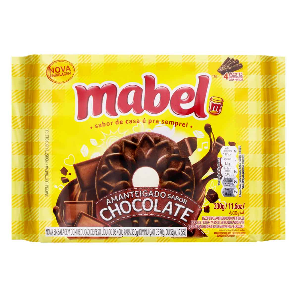 AMANT MABEL CHOCOLATE 1X330G (32)