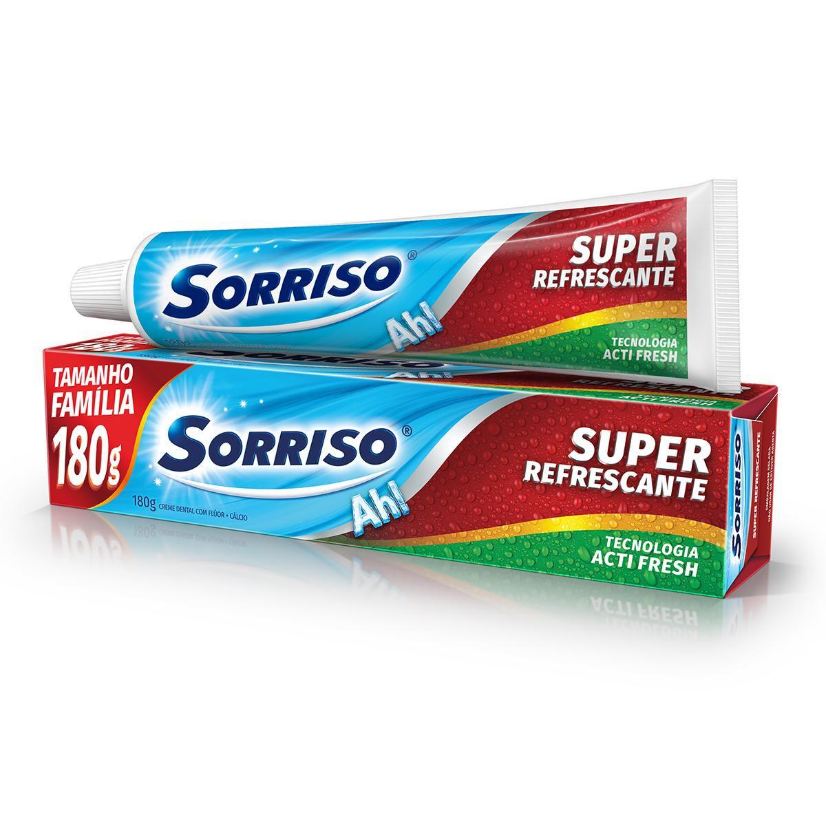 CR DENT SORRISO SUPER REFRESC 1X180G(72)
