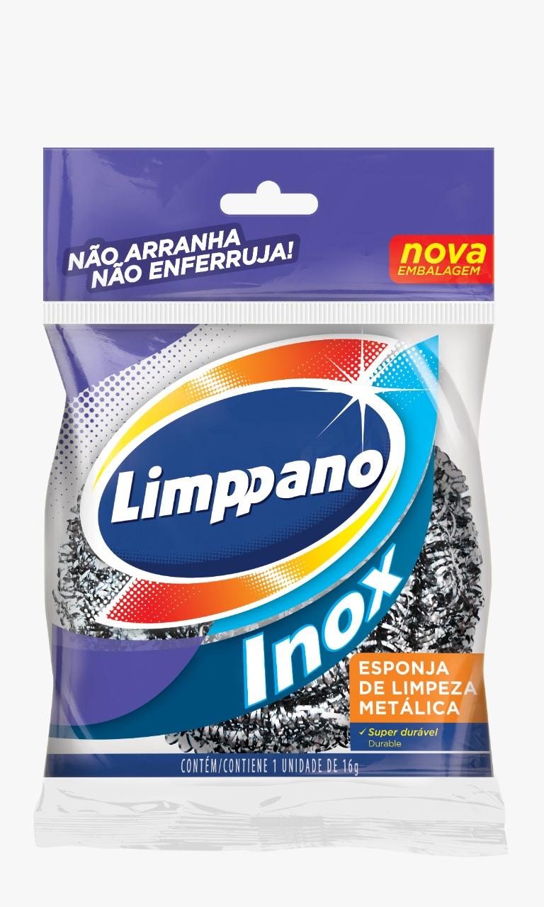 ESPONJA  DE AÇO INOX LIMPPANO (24)