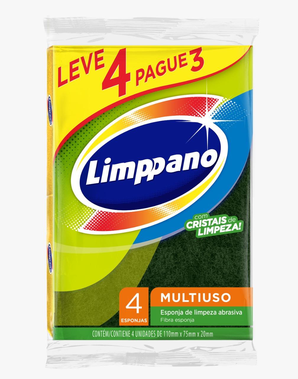 ESPONJA MULTIUSO LIMPPANO  L4P3(120)