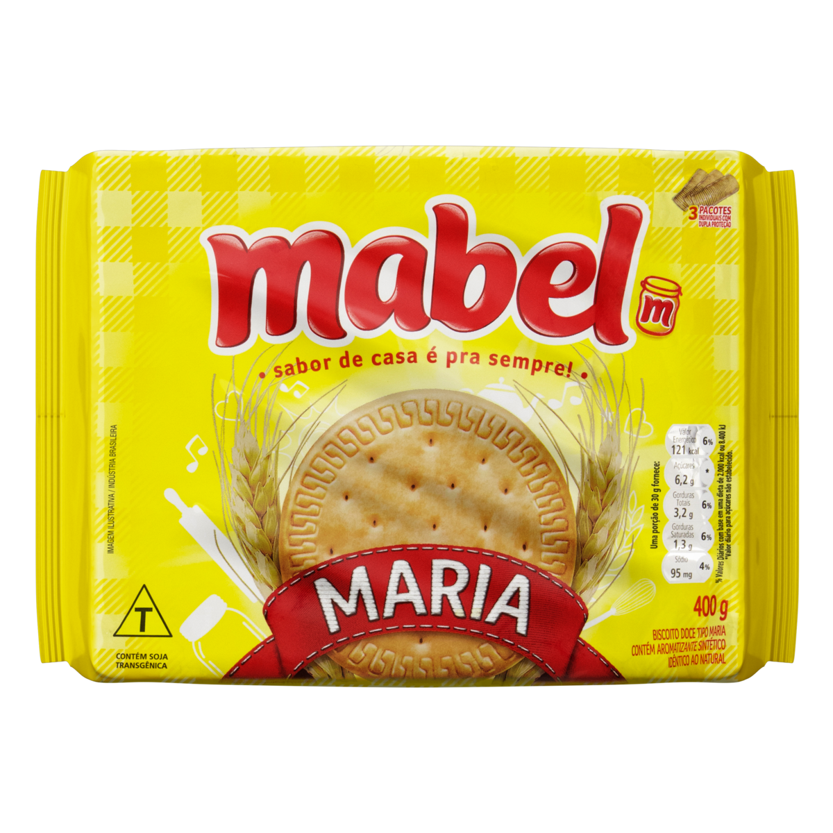 BISCOITO MABEL MARIA 1X400G (20)