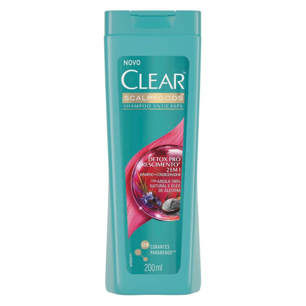 SH CLEAR 2EM1 DETOX PRO CRES 1X200ML (12