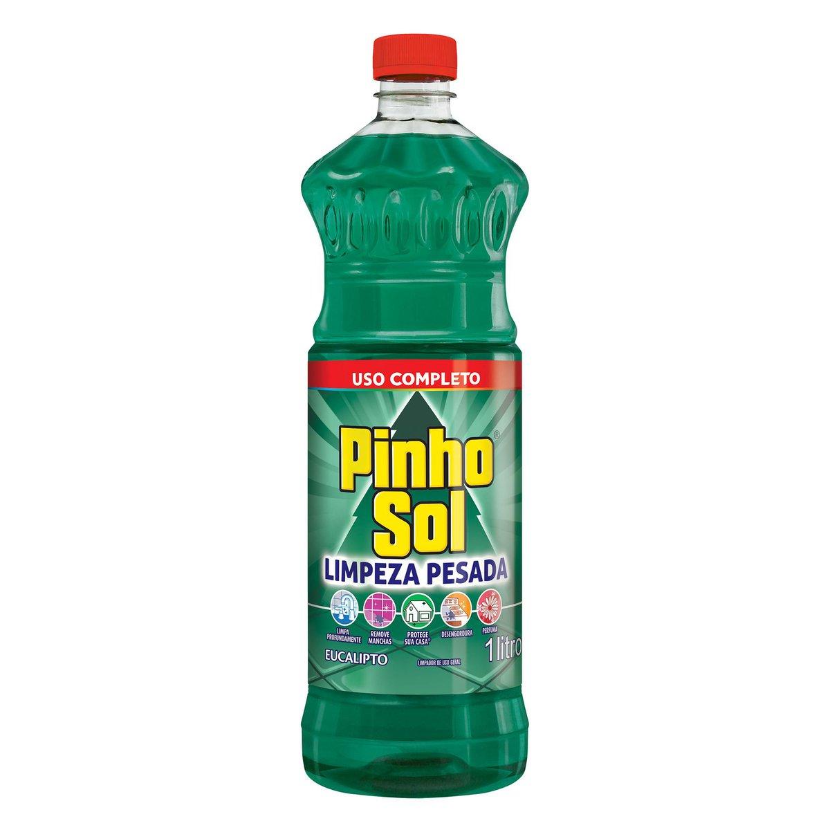 DESINF PINHO SOL LIMP P EUCA  1X1L(12)