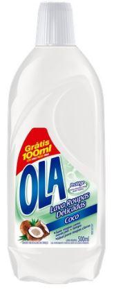 OLA LAV ROUPA LIQ COCO L500 P400ML(12)