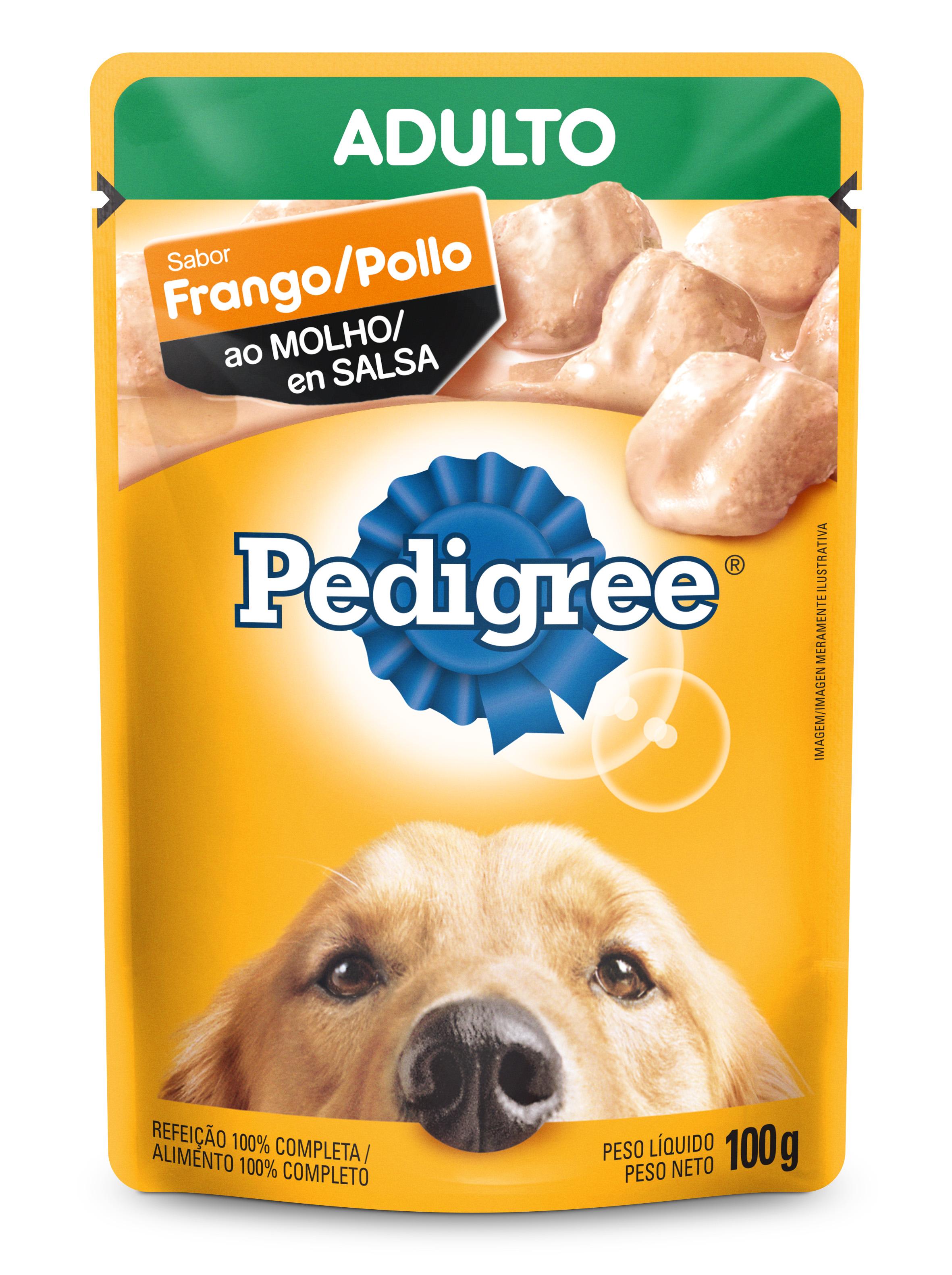 PEDIGREE SACHE ADULTO FRANGO MOL 100G(36