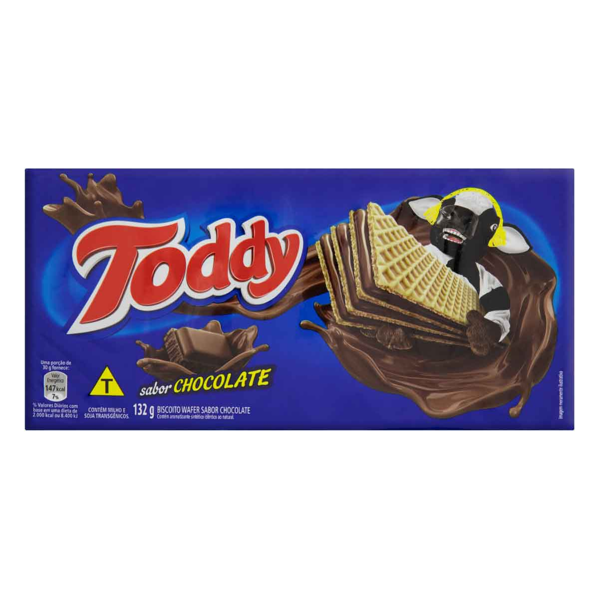 WAFER TODDY CHOCOLATE 1X132G(45)