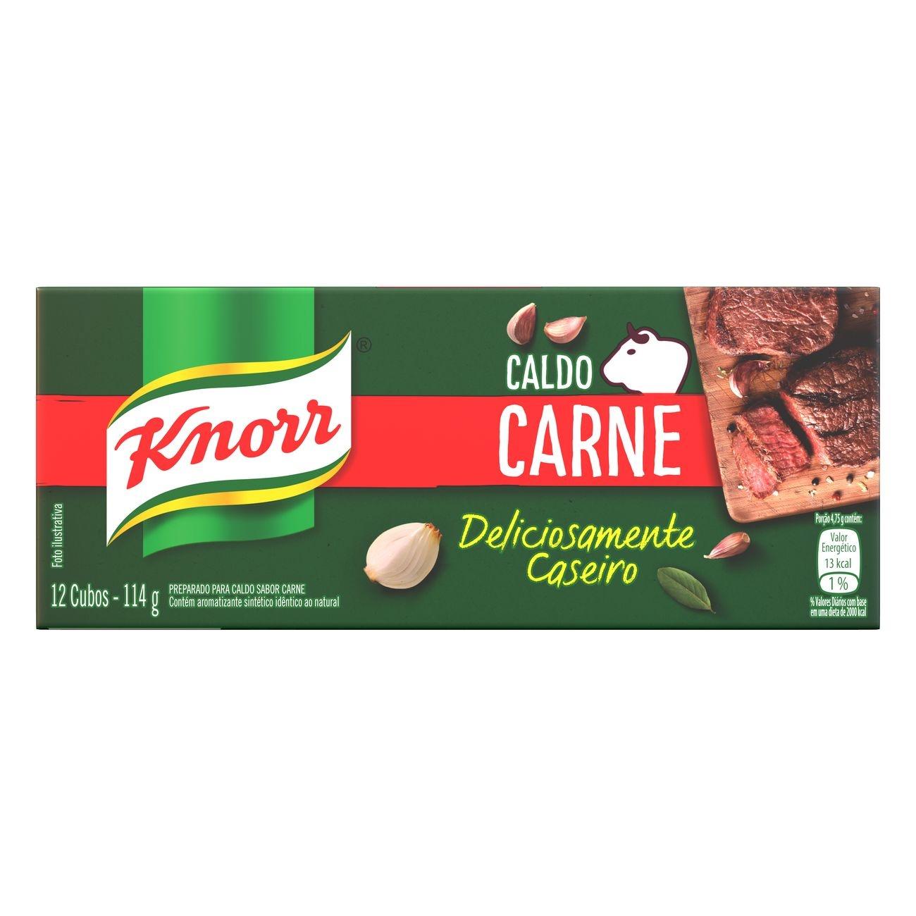 CART CALDO KNORR CARNE 1X114G (80)