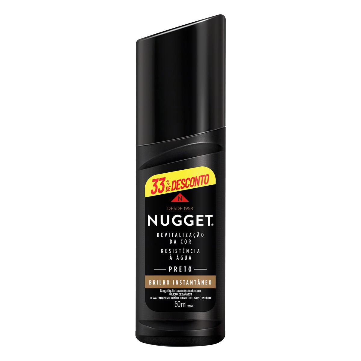 NUGGET PR LIQ PRETO 60 ML33% DES(24)