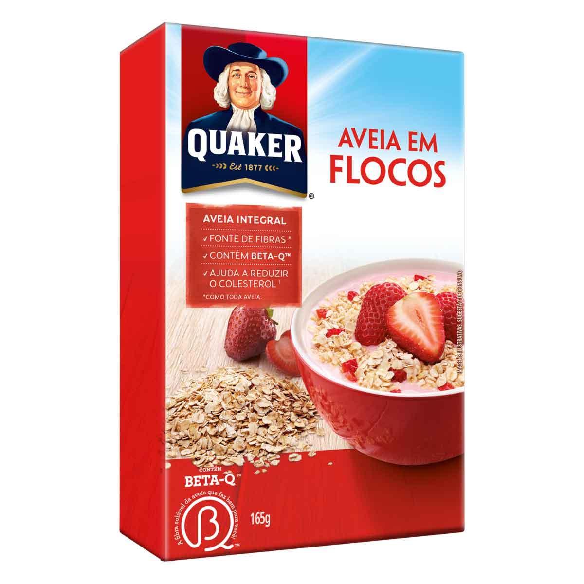 AVEIA QUAKER FLOCOS REGULAR 1X165G (28)