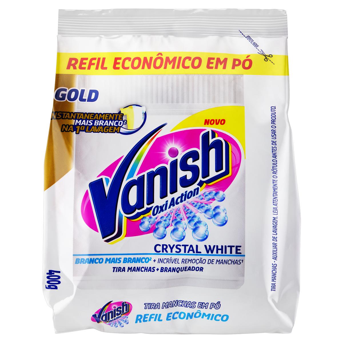 VANISH PO WHITE REFIL 1X400G(24)