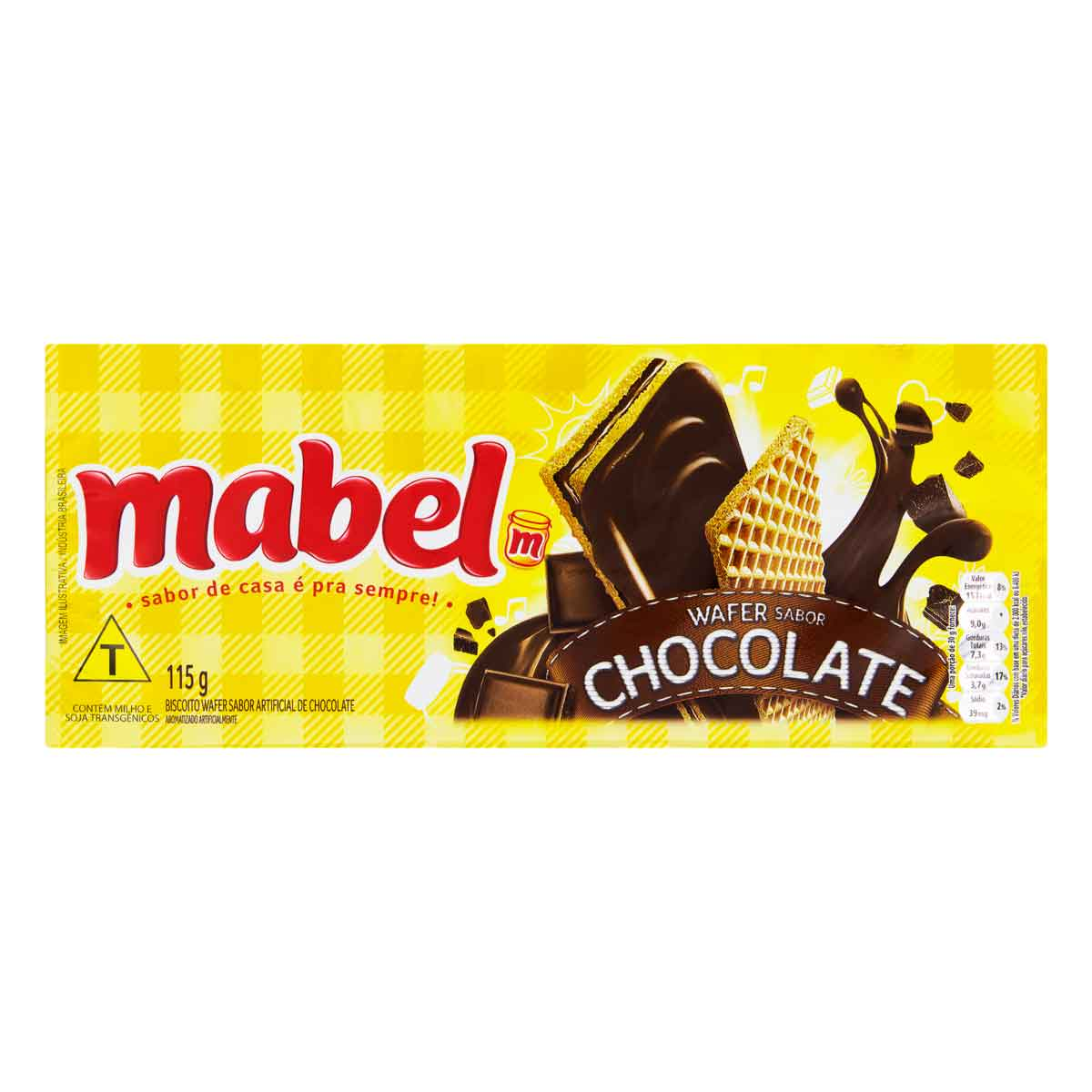 WAFER MABEL CHOCOLATE 1X115G (40)