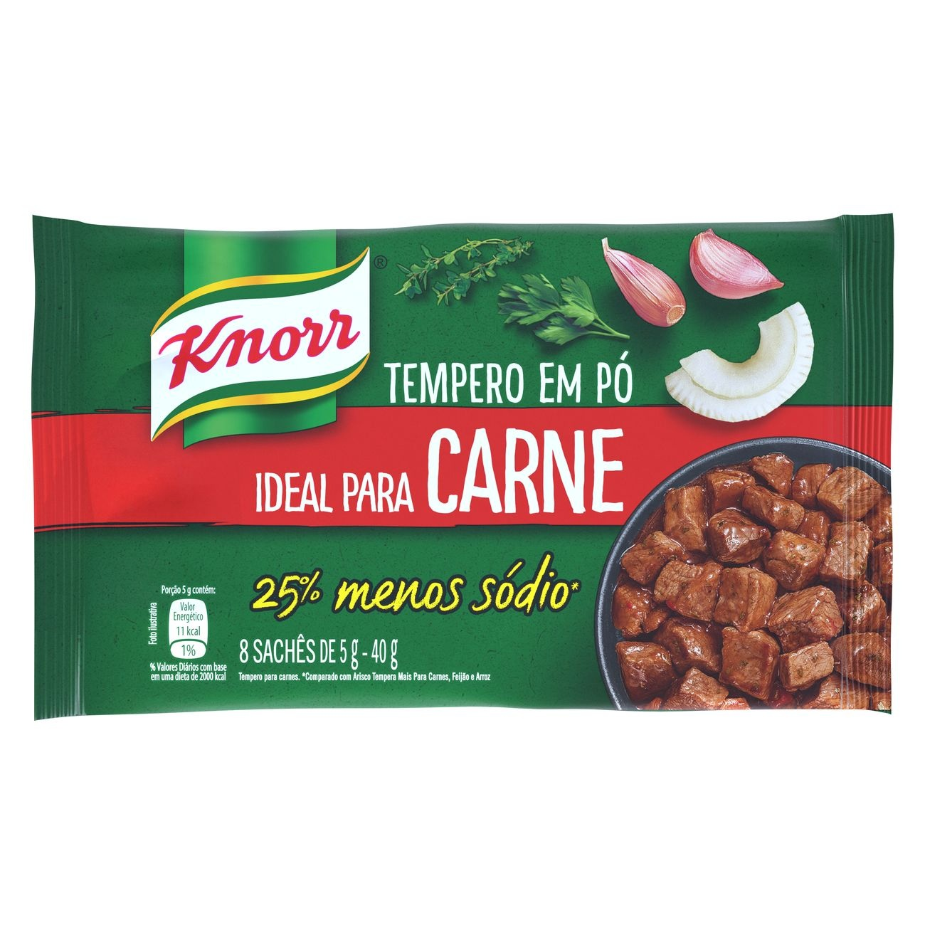 KNORR TEMP MEU IDEAL CARNES 1X 40G(24)