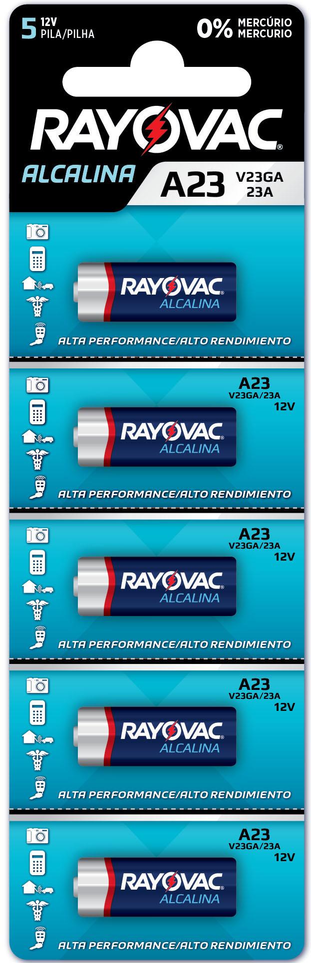 PILHA RAY  ALC V23GA-5 1X5(20)