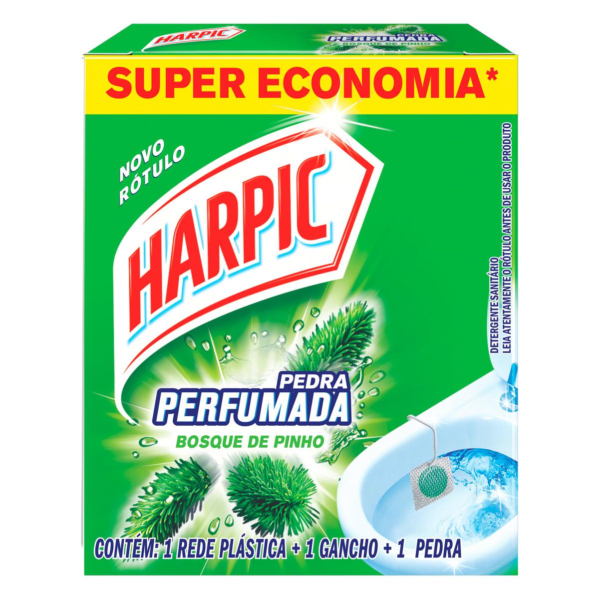 HARPIC PR AROMA PINHO EMB ECON 1X20G(36)