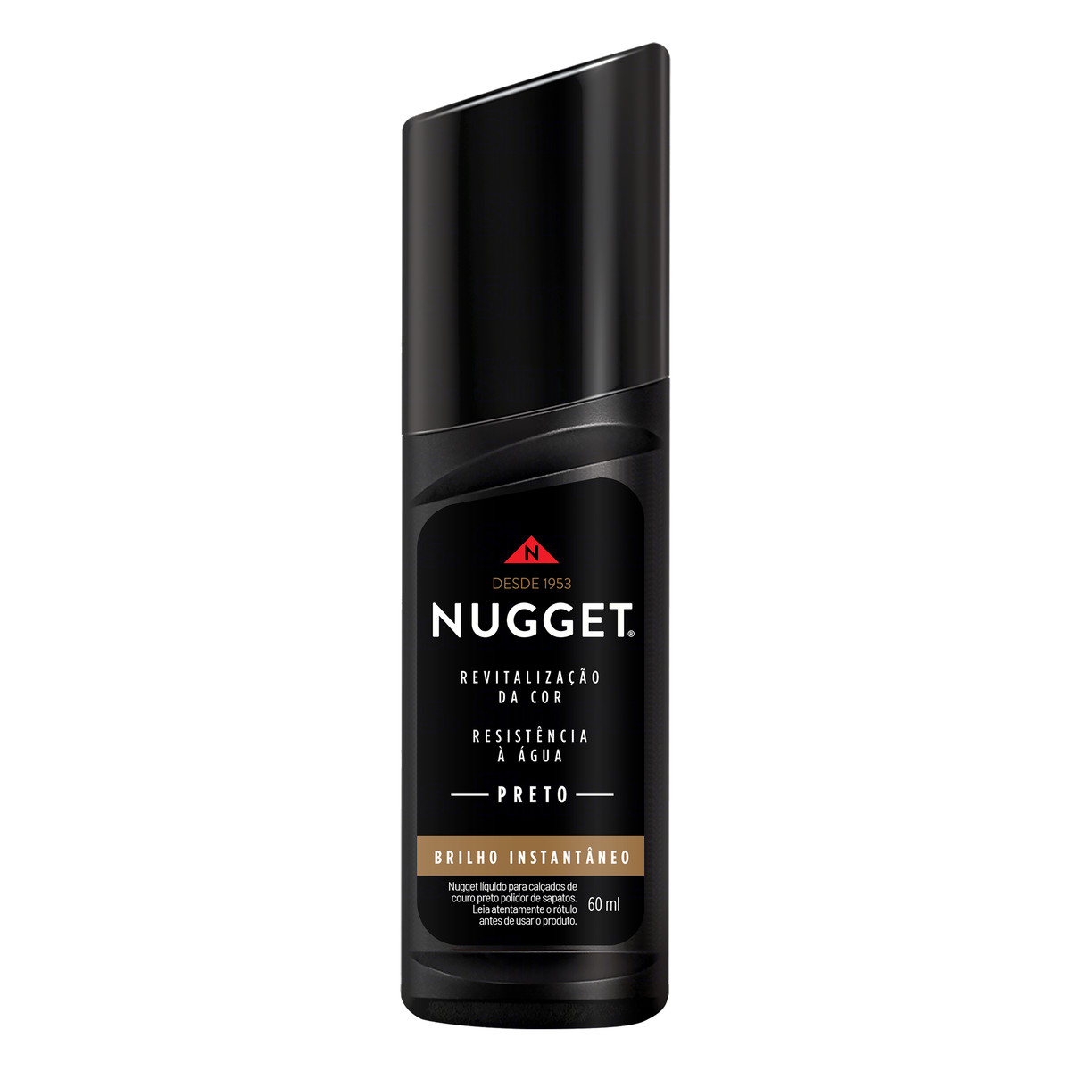 NUGGET LIQUIDO PRETO 1X60ML (24)