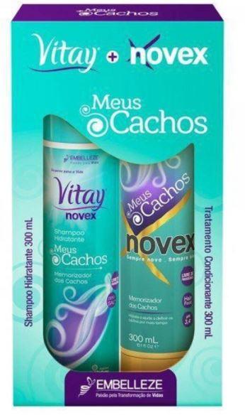KIT NOVEX MEUS CACHOS 1SH+1CD 300ML(6)