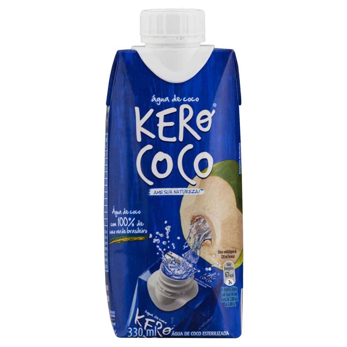 AGUA DE COCO KEROCOCO 1X330ML (12)